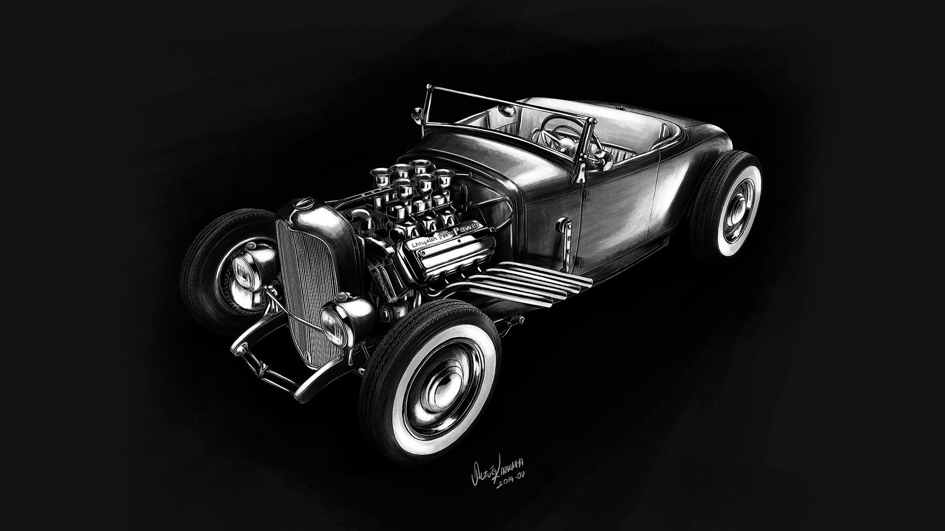 Ford Roadster – Blue Bayou