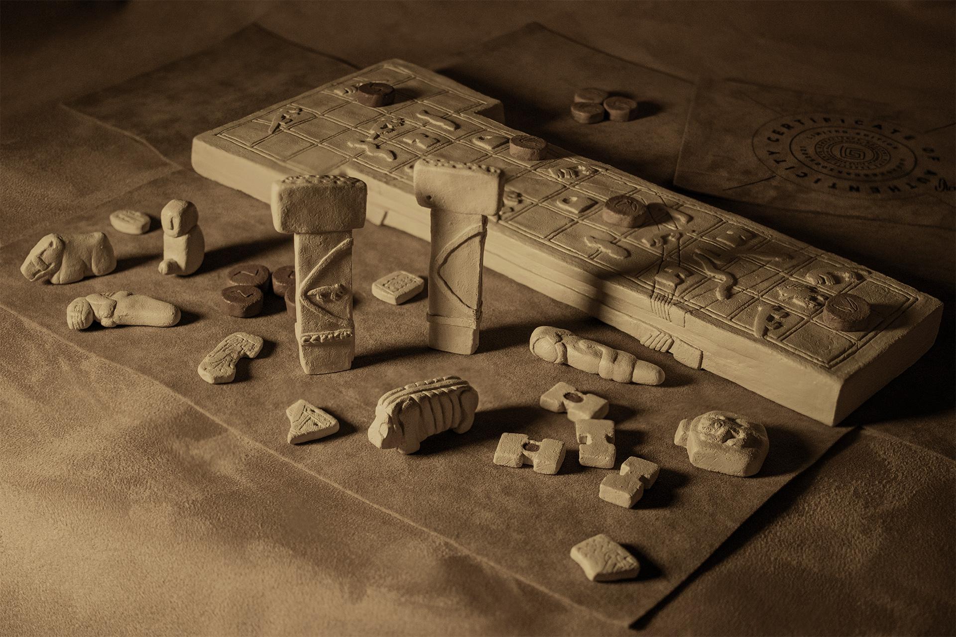 Göbeklitepe Ancient Board Game